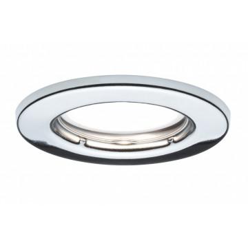 Встраиваемый светильник Paulmann Qual EBL LED 93853, 1xGU10x10W, хром, металл