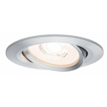 Встраиваемый светодиодный светильник Paulmann Nova Plus Reflector Coin dimmable 230V 93943, IP23, LED 6,8W, металл