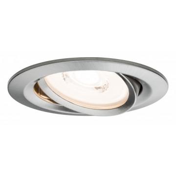 Встраиваемый светодиодный светильник Paulmann Nova Plus Reflector Coin dimmable 230V 93944, IP23, LED 6,8W, металл