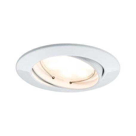 Встраиваемый светодиодный светильник Paulmann LED 230V Coin 51mm dimmable 93962, IP23, LED 6,8W, металл