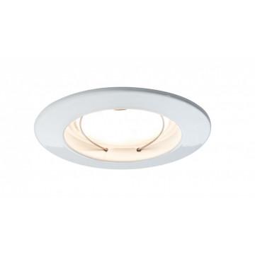 Встраиваемый светодиодный светильник Paulmann Coin LED 93974, IP44, LED 6,8W, белый, металл