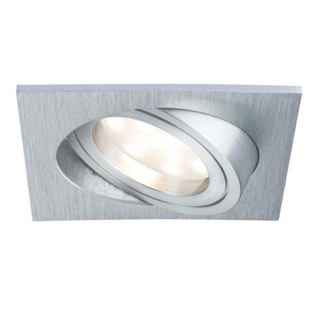 Встраиваемый светодиодный светильник Paulmann LED 230V Coin 51mm 93986, IP23, LED 6,8W, металл