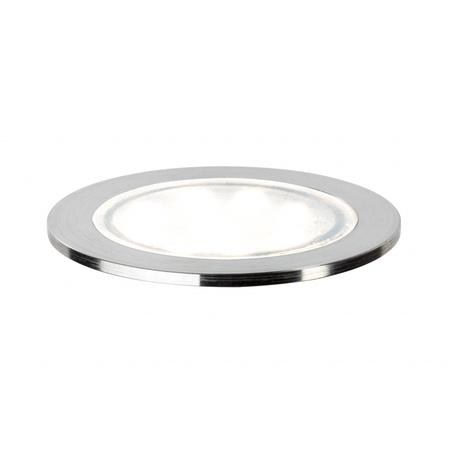 Встраиваемый в пол светодиодный светильник Paulmann LED Allround 93828, LED 0,7W, сталь, металл