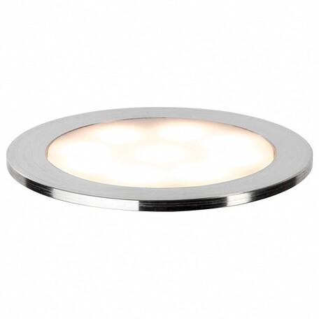Встраиваемый в пол светодиодный светильник Paulmann LED Allround 93829, LED 0,7W, сталь, металл