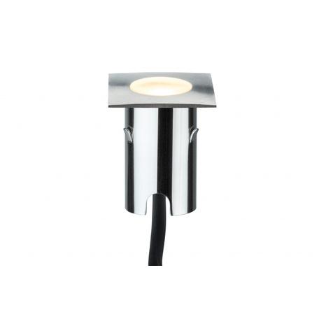 Встраиваемый в уличное покрытие светодиодный светильник Paulmann Special Line MiniPlus Extra 93786, IP67, LED 0,7W, сталь, металл
