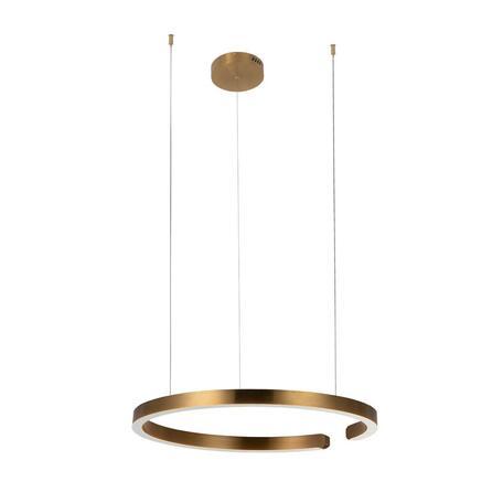 Подвесной светодиодный светильник Loft It Ring 10013L, LED 36W, матовое золото, металл