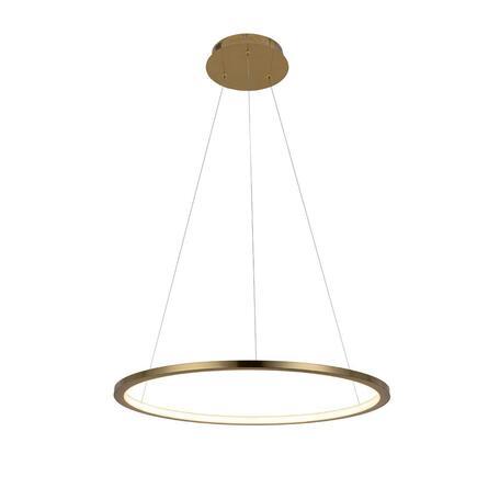 Подвесной светодиодный светильник Loft It Ring 10014M, LED 24W, матовое золото, металл
