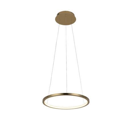 Подвесной светодиодный светильник Loft It Ring 10014S, LED 15W, матовое золото, металл