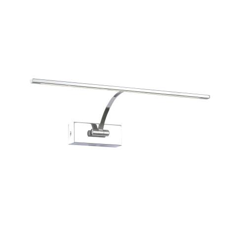 Настенный светодиодный светильник для подсветки картин ST Luce Minare SL595.101.01, LED 8W 4000K, хром, белый, металл