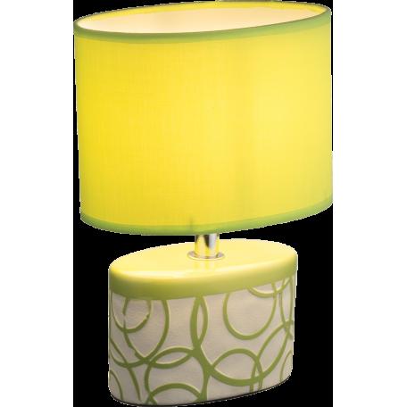 Настольная лампа Globo Dukono 21606, 1xE14x40W, керамика, текстиль