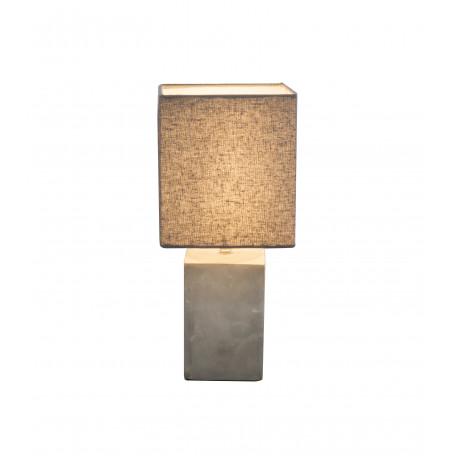 Настольная лампа Globo Ilona 21700, 1xE14x40W, бетон, текстиль