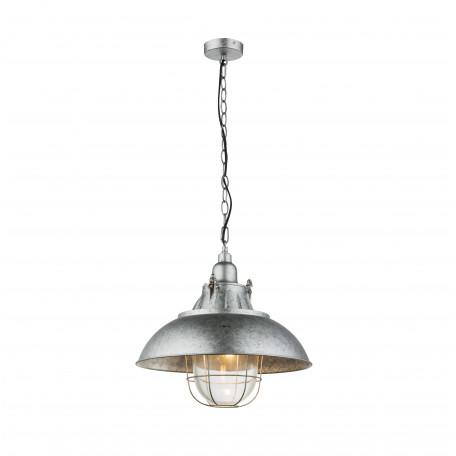 Подвесной светильник Globo Jaden 15012, 1xE27x60W, металл, стекло
