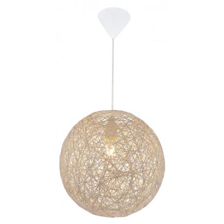 Подвесной светильник Globo Coropuna 15252B, 1xE27x60W, пластик, бумага/картон