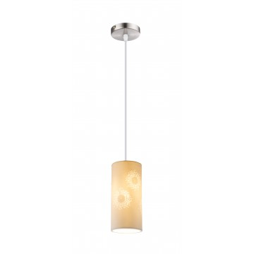 Подвесной светильник Globo Cendres 15919, 1xE27x40W, металл, керамика