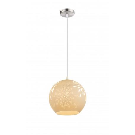 Подвесной светильник Globo Subara 22803H, 1xE27x40W, металл, керамика