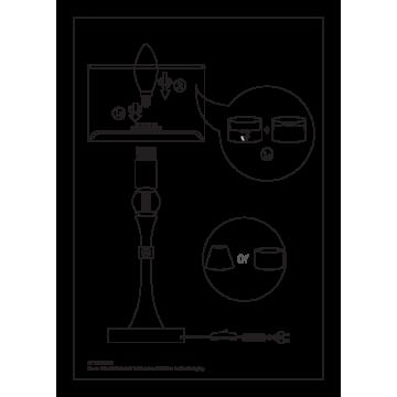 Схема с размерами Maytoni M-11-CR-LMP-O-21
