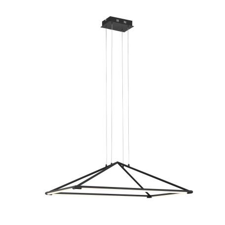 Подвесной светодиодный светильник ST Luce Imogine SL398.403.04, LED 31W 3000K 1716lm, черный, черно-белый, металл, металл с пластиком