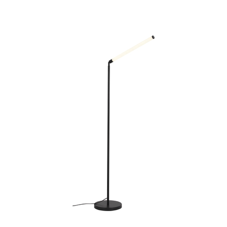 Светодиодный торшер ST Luce Bisaria SL393.405.01, LED 10W 4000K 583lm, черный, белый, металл, пластик