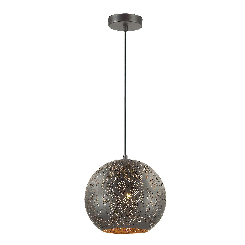 Подвесной светильник Favourite Turnover 1947-1P, 1xE27x60W, черный, металл - фото 1