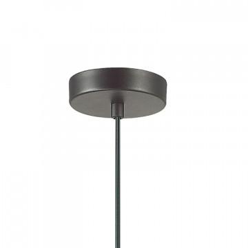 Подвесной светильник Favourite Turnover 1947-1P, 1xE27x60W, черный, металл - миниатюра 2
