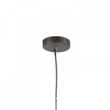 Подвесной светильник Favourite Pila 1951-1P, 1xE27x60W, коричневый, коньячный, прозрачный, металл, стекло - миниатюра 4