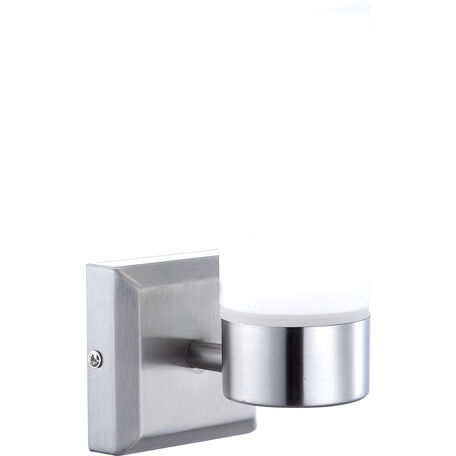 Настенный светильник Globo Space 7815, IP44, 1xE14x40W, металл, стекло