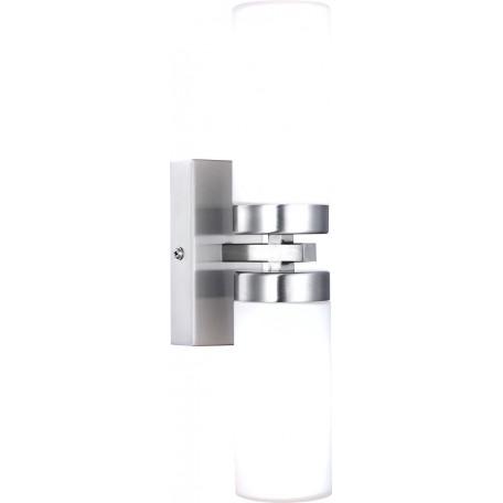 Настенный светильник Globo Space 7816, IP44, 2xE14x40W, металл, стекло