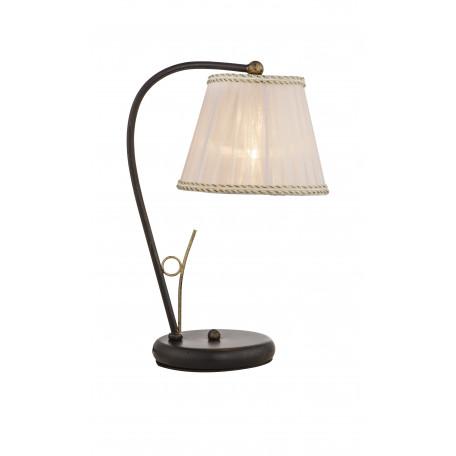 Настольная лампа Globo Genoveva 69014T, 1xE27x60W, металл, текстиль