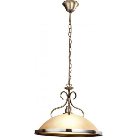 Подвесной светильник Globo Sassari 6905, 1xE27x60W, металл, стекло - миниатюра 1