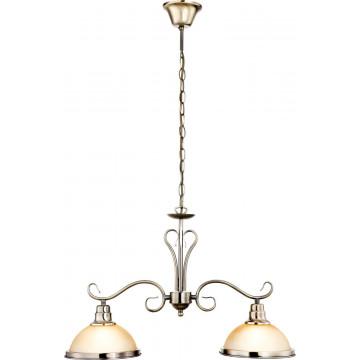 Подвесной светильник Globo Sassari 6905, 1xE27x60W, металл, стекло - миниатюра 4