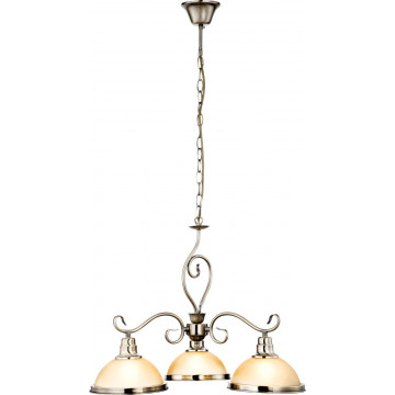 Подвесной светильник Globo Sassari 6905, 1xE27x60W, металл, стекло - миниатюра 6