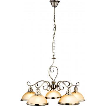 Подвесной светильник Globo Sassari 6905, 1xE27x60W, металл, стекло - миниатюра 7