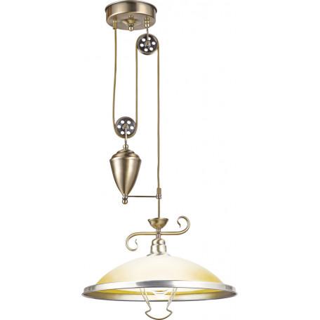 Подвесной светильник Globo Sassari 6905Z, 1xE27x60W, металл, стекло