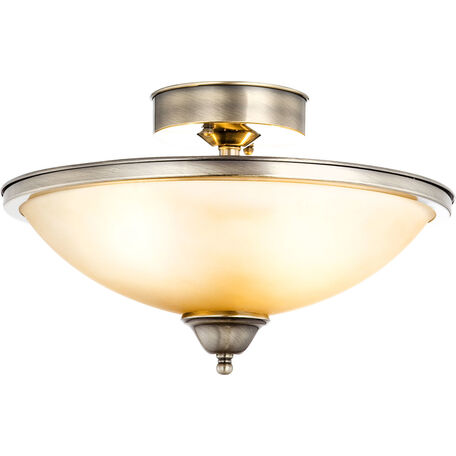 Потолочная люстра Globo Sassari 6905-2D, 2xE27x60W, металл, стекло