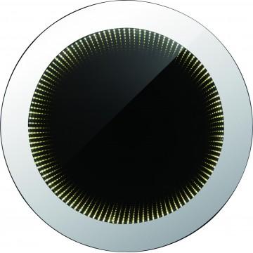 Зеркало со светодиодной подсветкой Globo Mara 84018, IP44, LED 8W, 6400K (холодный), металл, стекло