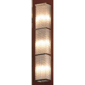 Настенный светильник Lussole Loft Lariano LSA-5401-03, IP21, 3xG9x40W, хром, прозрачный, металл, стекло