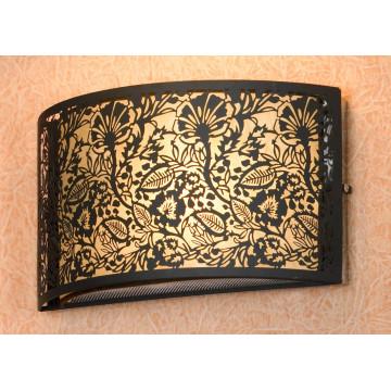 Настенный светильник Lussole Loft Vetere LSF-2371-01, IP21, 1xE14x40W, черный, металл с пластиком