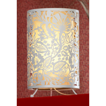 Настольная лампа Lussole Loft Vetere LSF-2304-01, IP21, 1xE27x60W, белый, металл, металл с пластиком