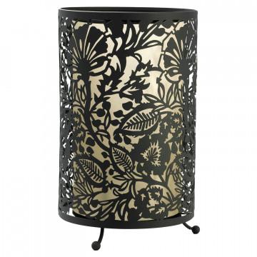 Настольная лампа Lussole Loft Vetere LSF-2374-01, IP21, 1xE27x60W, черный, металл, металл с пластиком