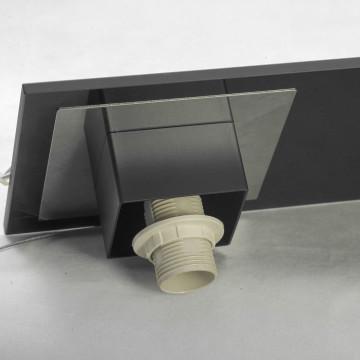Подвесной светильник Lussole Loft Lente LSC-2503-03, IP21, 3xE14x40W, черный, белый, металл, стекло - миниатюра 4