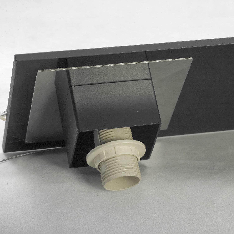 Подвесной светильник Lussole Loft Lente LSC-2503-03, IP21, 3xE14x40W, черный, белый, металл, стекло - фото 4