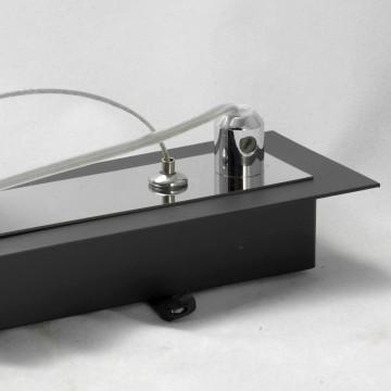Подвесной светильник Lussole Loft Lente LSC-2503-03, IP21, 3xE14x40W, черный, белый, металл, стекло - миниатюра 6