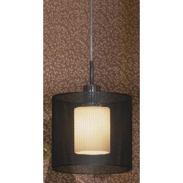 Подвесной светильник Lussole Loft Rovella LSF-1906-01, IP21, 1xE27x60W, хром, черный, металл