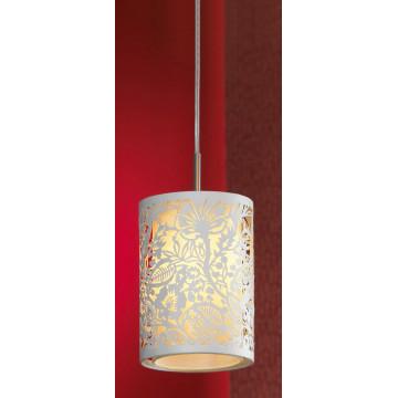 Подвесной светильник Lussole Loft Vetere LSF-2306-01, IP21, 1xE14x40W, белый, металл, металл с пластиком