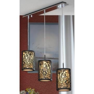 Подвесной светильник Lussole Loft Vetere LSF-2376-03, IP21, 3xE14x40W, черный, металл, металл с пластиком