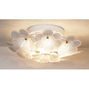 Потолочная люстра Lussole Loft Asinara LSA-5107-03, IP21, 3xG9x40W, белый, металл, стекло - миниатюра 1