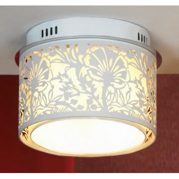 Потолочный светильник Lussole Loft Vetere LSF-2307-04, IP21, 4xE14x40W, белый, металл, металл с пластиком
