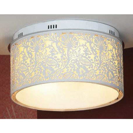 Потолочный светильник Lussole Loft Vetere LSF-2307-07, IP21, 7xE14x40W, белый, металл, металл с пластиком
