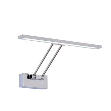Настенный светодиодный светильник для подсветки картин Citilux Визор CL708351, LED 8W 3600K 975lm, хром, металл