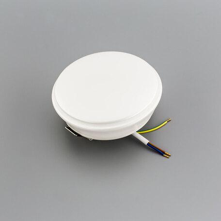 Встраиваемый светодиодный светильник Citilux Дельта CLD6008N, IP54, LED 8W 4000K 520lm, белый, пластик